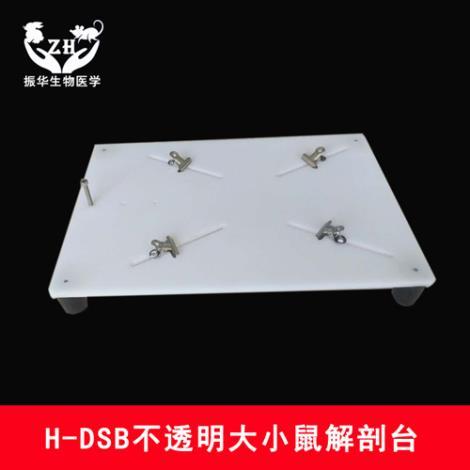 ZH-DST塑料鼠解剖台带灯