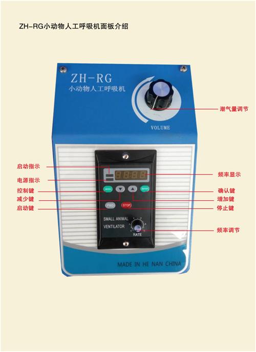 ZH-RG新款小动物人工呼吸机
