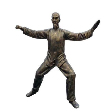 歷史展覽館主題雕塑 玻璃鋼仿銅人物雕像 真人比例 廠家直銷