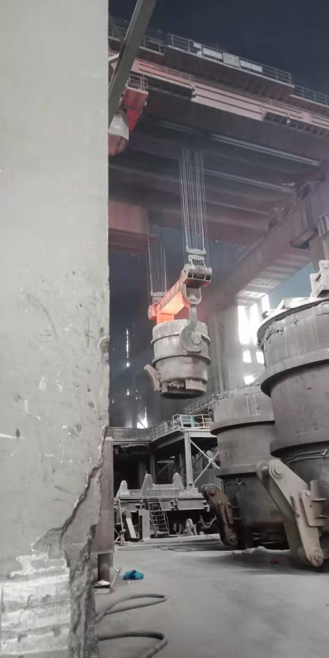 炼钢厂行车、钢(水)包检测