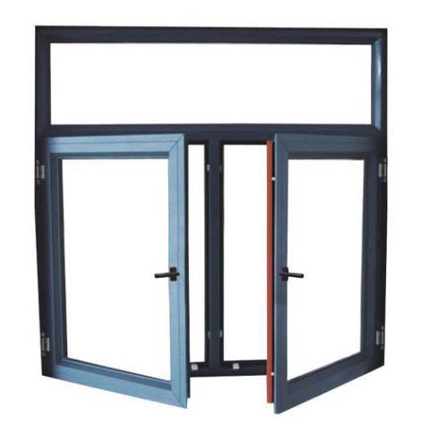 鋁木復合平開窗金鋼一體窗