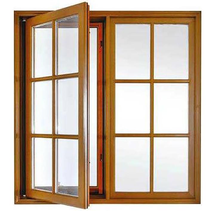 鋁包木平開窗廠家