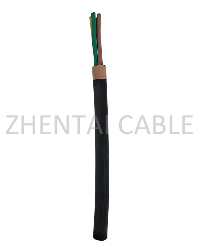 橡皮绝缘软电缆
