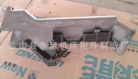 机床钢板防护罩厂家