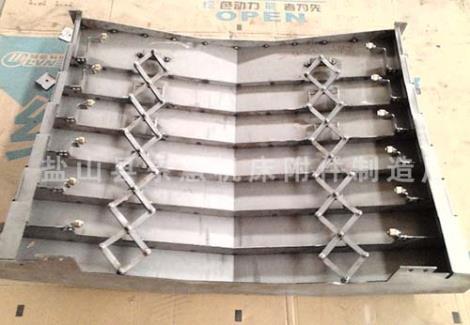 机床钢板防护罩报价