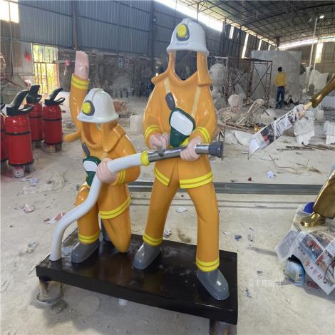 广州玻璃钢公仔雕塑厂家