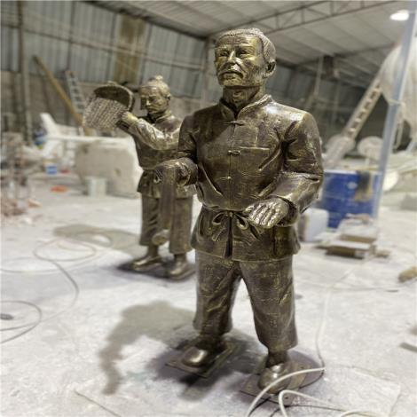 广州玻璃钢运动员雕塑