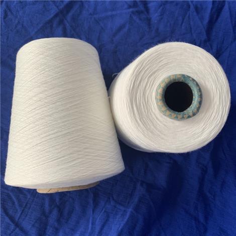 环锭纺6支阻燃纱 涤纶阻燃纱线 t6支 针织机织纱