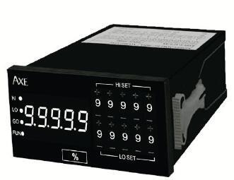 5位数微电脑型盤面式控制电表 指发开关设定型 MMX-AP AXE苏州致昇