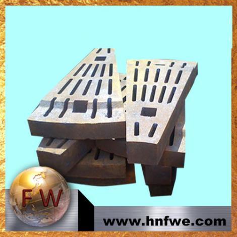 球磨机衬板高锰钢衬板高铬合金衬板