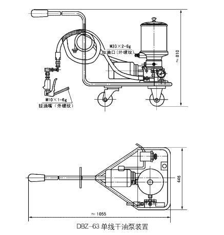 DB-63型单线干油泵及装置批发