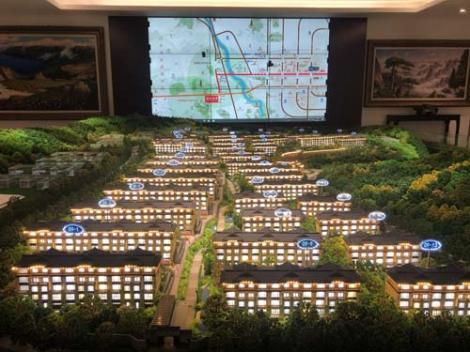 城市沙盘城市模型