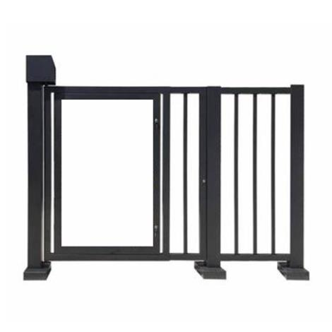 平移栅栏门