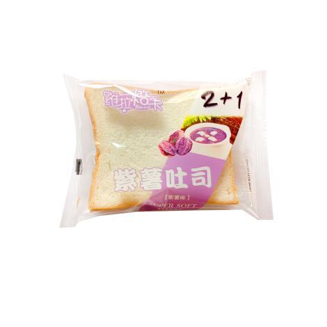 维拉焙卡紫薯吐司批发