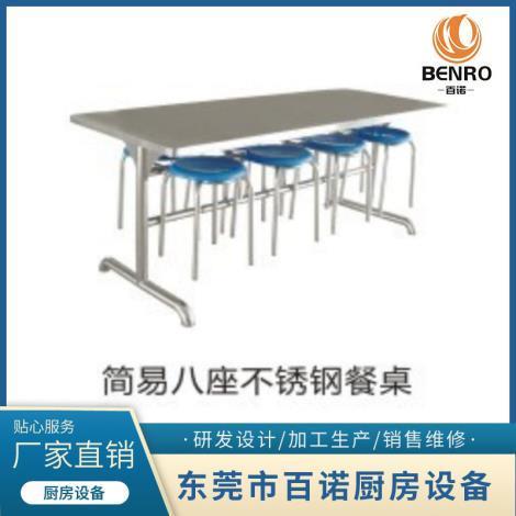 不銹鋼餐桌批發