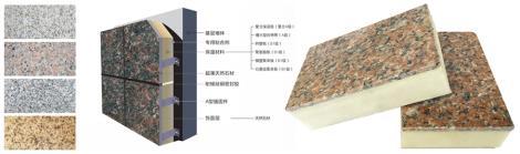 福洛斯真石材一體板